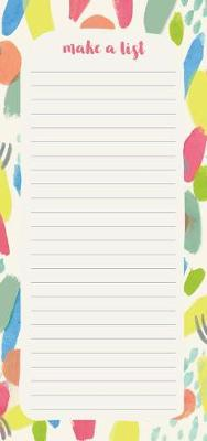 2020 High Note (R) Fresh & Colorful Vertical List Pad by Sarah Walsh