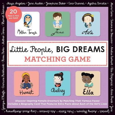 Little People, BIG DREAMS Matching Game: Put Your Brain to the Test with All the Girls of the Little People, BIG DREAMS Series! by Isabel Sanchez Vegara