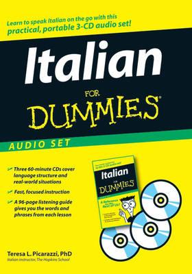 Italian For Dummies Audio Set by Teresa L. Picarazzi