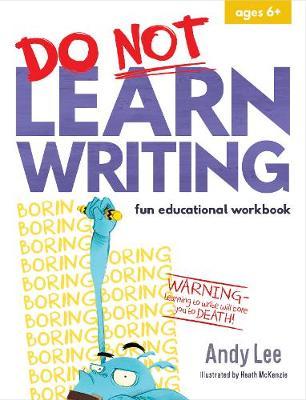 Do Not Learn Writing - Fun Educational Workbook book