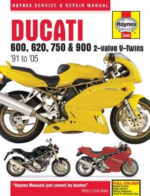 Ducati 600, 750 & 900 2-Valve V-Twin Service and Repair Manual by Haynes Publishing