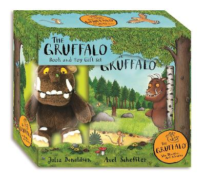 The Gruffalo: Book and Toy Gift Set by Julia Donaldson