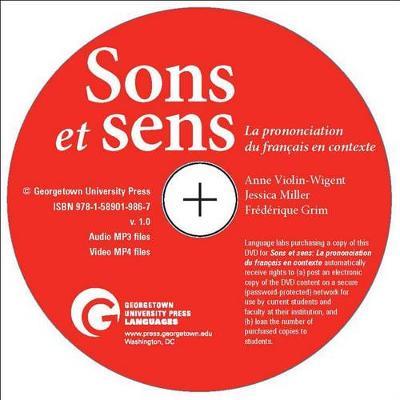 DVD Pour Sons Et Sens: La Prononciation Du Francais En Contexte by Anne Violin-Wigent