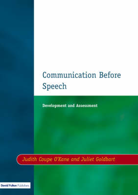 Communication Before Speech by Judith Coupe O'Kane