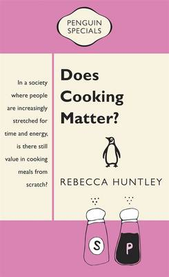 Does Cooking Matter? book
