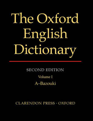 Oxford English Dictionary by John Simpson