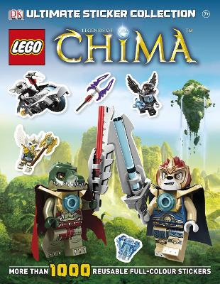LEGO Legends of Chima Ultimate Sticker Collection by DK