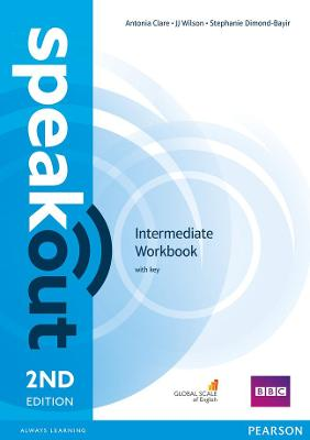 Speakout Intermediate 2nd Edition Workbook with Key by Stephanie Dimond-Bayer