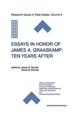 Essays in Honor of James A. Graaskamp: Ten Years After by James R. DeLisle