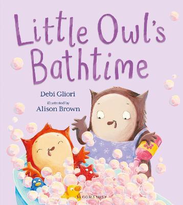 Little Owl's Bathtime book