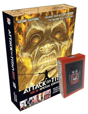 Attack On Titan 16 Special Edition With Playing Cards book