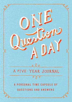 One Question a Day book