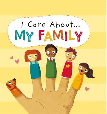 I Care About: My Family book