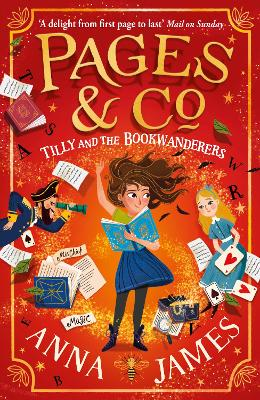 Pages & Co.: Tilly and the Bookwanderers (Pages & Co., Book 1) by Anna James