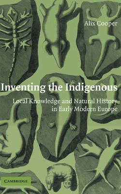 Inventing the Indigenous book