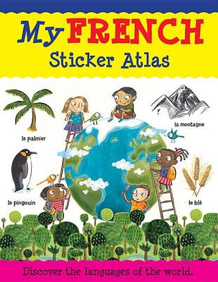 My French Sticker Atlas book