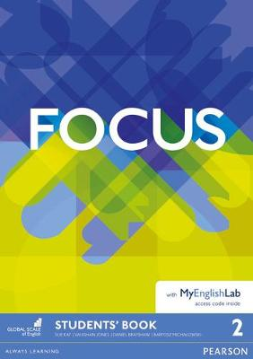Focus BrE 2 Student's Book for MyEnglishLab Pack by Vaughan Jones
