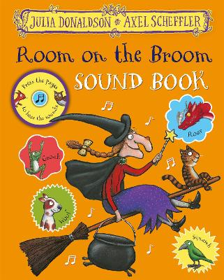 Room on the Broom Sound Book book