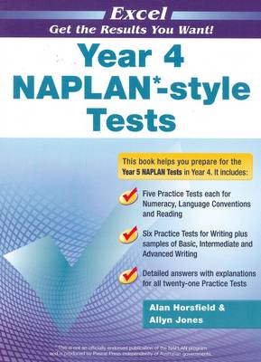 Excel Year 4 NAPLAN*-style Tests book