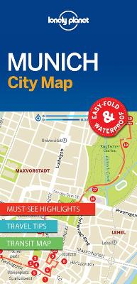 Lonely Planet Munich City Map by Lonely Planet
