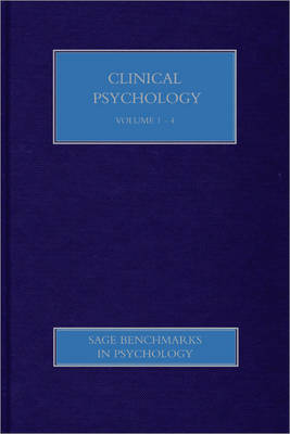 Clinical Psychology I book