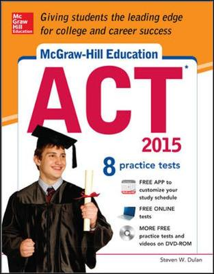 McGraw-Hill Education ACT with DVD-ROM, 2015 Edition by Steven Dulan