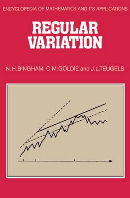 Regular Variation book