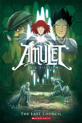 Amulet: #4 Last Council by Kazu Kibuishi