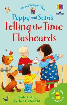 Poppy and Sam's Telling the Time Flashcards book