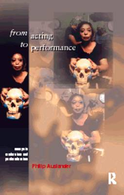 From Acting to Performance book