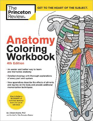 Anatomy Coloring Workbook, 4th Edition by Princeton Review