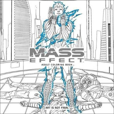 Mass Effect Adult Coloring Book by BIOWARE