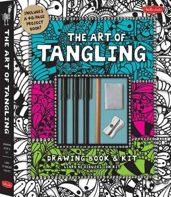 The Art of Tangling Drawing Book & Kit by Walter Foster Creative Team
