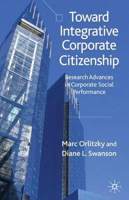 Toward Integrative Corporate Citizenship book