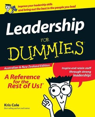 Leadership for Dummies Australian & NZ Edition book