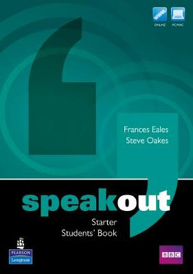 Speakout Starter Students' Book for DVD/Active Book Multi Rom for pack by Frances Eales