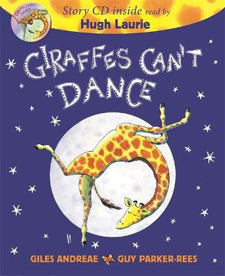 Giraffes Can't Dance Book & CD by Giles Andreae