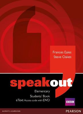 Speakout Elementary Students' Book eText Access Card with DVD by Frances Eales