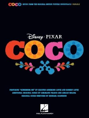 Disney Pixar's Coco For Ukulele book