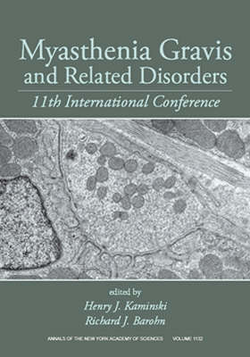 Myasthenia Gravis and Related Disorders by Henry J. Kaminski