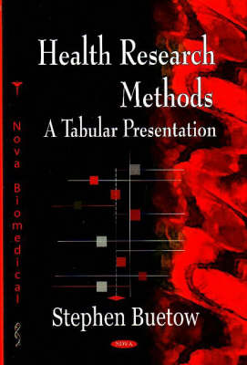 Health Research Methods by Stephen Buetow