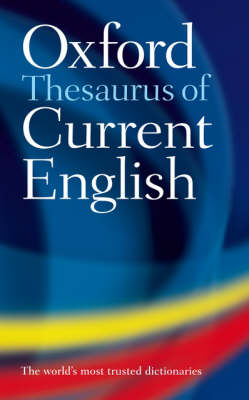 Thesaurus of Current English book