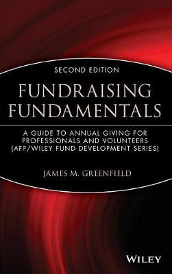 Fundraising Fundamentals by James M. Greenfield