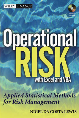 Operational Risk with Excel and VBA by Nigel Da Costa Lewis