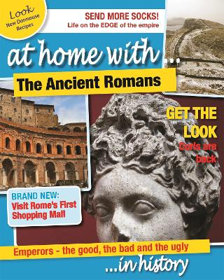 At Home With: The Ancient Romans by Tim Cooke