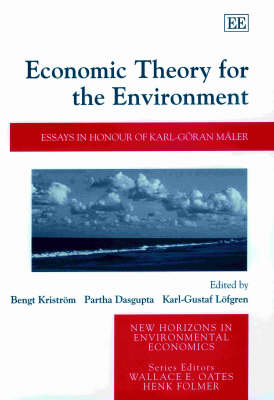 Economic Theory for the Environment: Essays in Honour of Karl-Goeran Maler by Bengt Kristroem