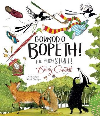 Gormod o Bopeth! / Too Much Stuff! by Emily Gravett