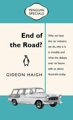 End Of The Road?: Penguin Special book