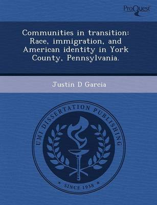 Communities in Transition: Race by Rebecca J. Laird