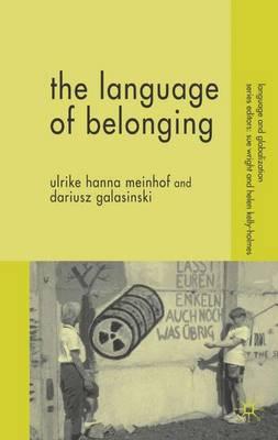 Language of Belonging by Ulrike Meinhof